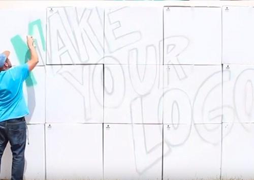 animation graffitis logo cube haute savoie
